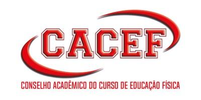 Logo do CACEF - Conselho Acadêmico do Curso de Educação Física.