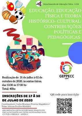 Curso de Extensão - Educação, Educação Física e Teoria Histórico-Cultural: Contribuições Políticas e Pedagógicas.